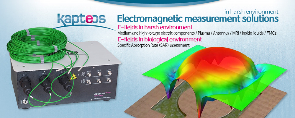 Electromagnetic measurement solutions Kapteos
